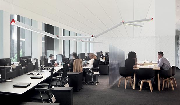 Ufficio Y : Series y designed by gensler artemide north america
