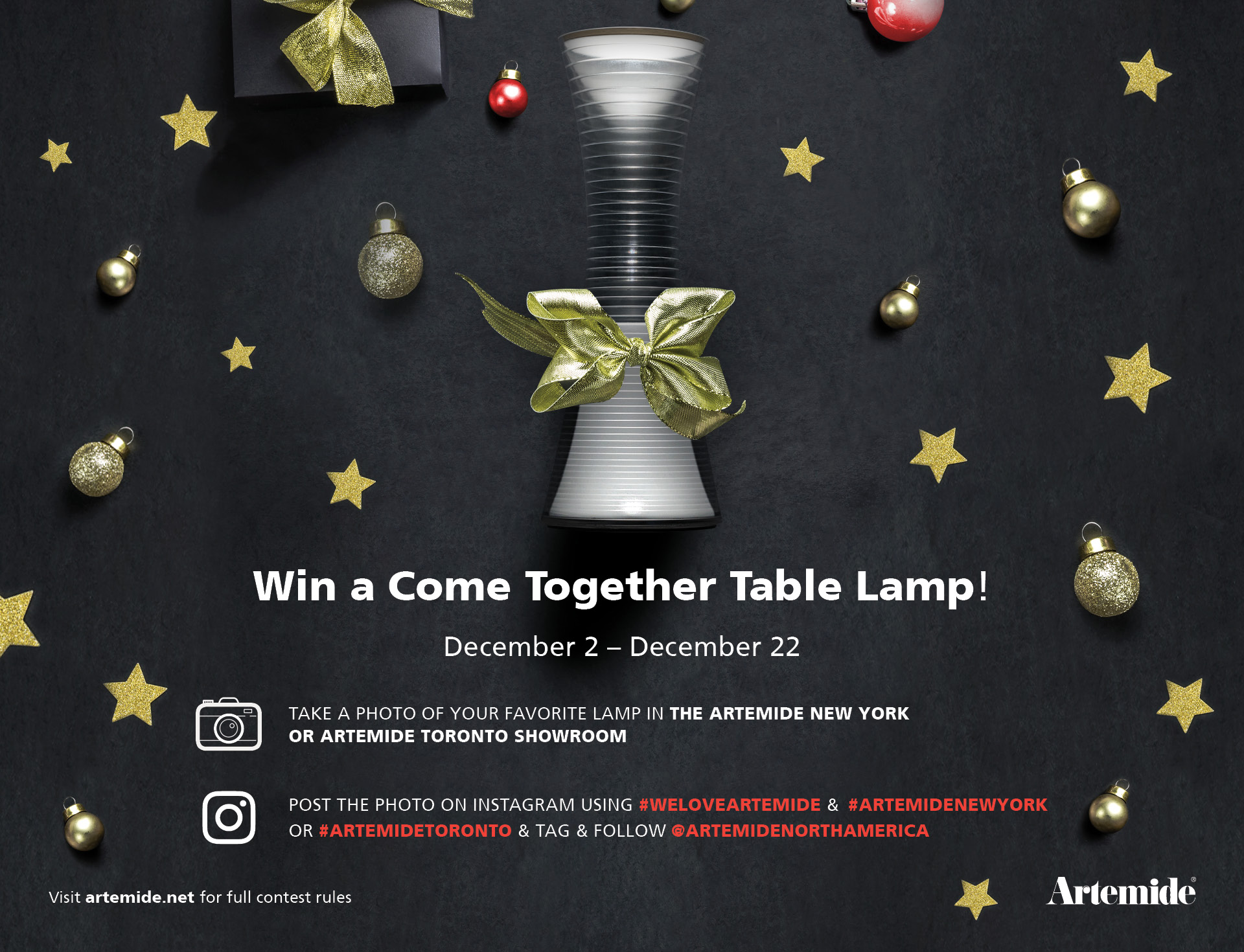 Artemide-Contest-Come Together-Showroom